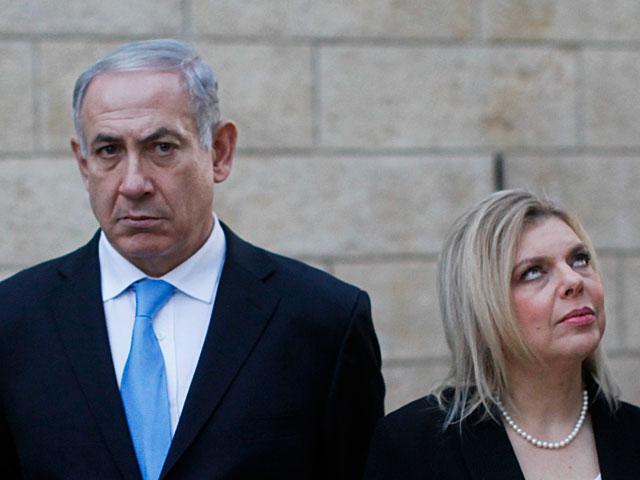Биньямин Нетаньяху с женой