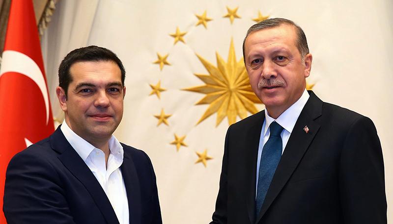 Алексис Ципрас и Реджеп Тайип Эрдоган