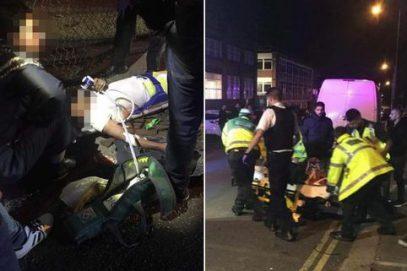 В Лондоне автомобиль передавил прихожан у мечети и скрылся