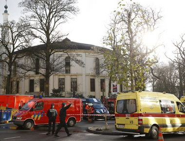 Белый порошок вызвал панику в мечети