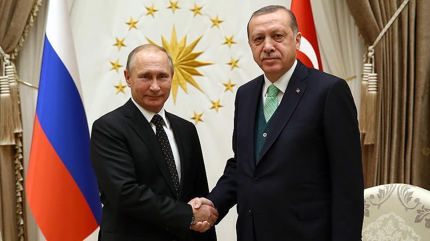 Эрдоган собрался поговорить с Путиным про Сирию