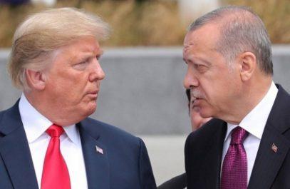 Эрдоган рассказал, как с Меркель поставил на место Трампа