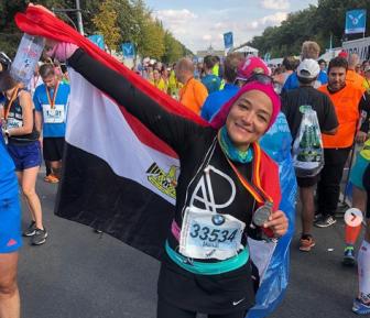 Хиджаб занял почетное место на Берлинском марафоне