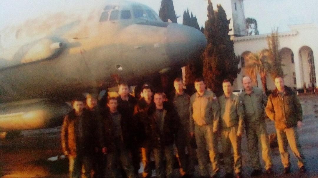 Ил-20 был сбит накануне над Средиземным морем. Фото: vk.com