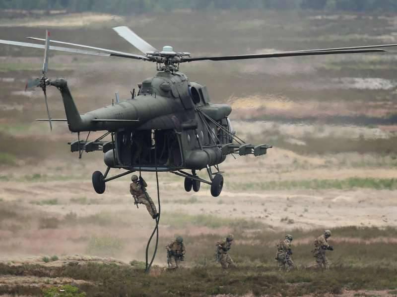 Вертолет каолиции