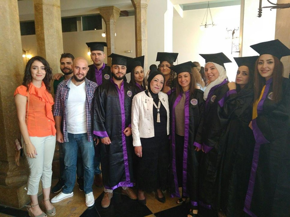 Выпускники кафедры русского языка Университета Дамаска
