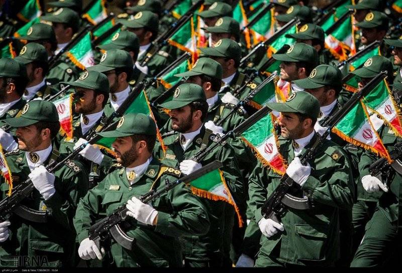 Иранские стражи обстреляли Сирию ракетами в знак возмездия