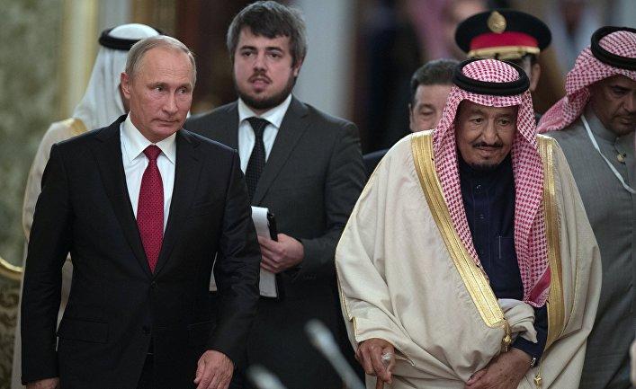 Стали известны подробности готовящегося визита Путина в Саудовскую Аравию