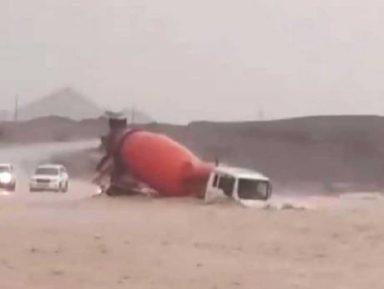 Появились первые жертвы наводнения в ОАЭ