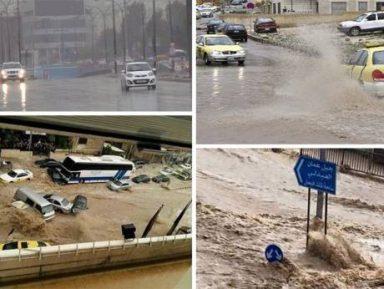 Разбушевавшееся Мертвое море утопило школьный автобус с детьми (ВИДЕО)