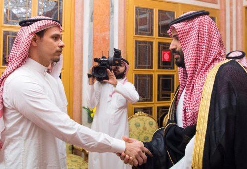 «Глаза в глаза»: наблюдателей поразил «красноречивый» взгляд сына Хашогджи на наследного принца
