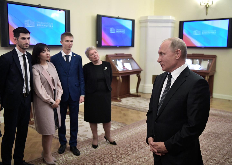 Учитель из Чечни встретился с Путиным
