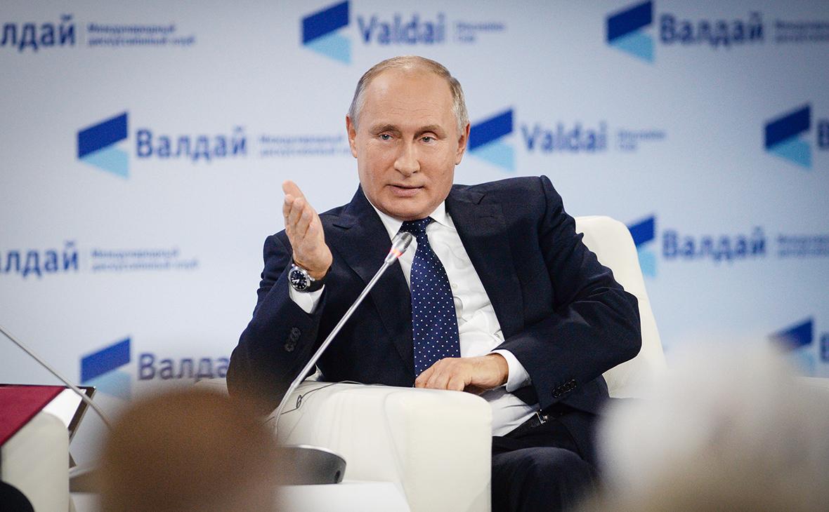 Владимир Путин (Фото: Сергей Мамонтов / РИА Новости)