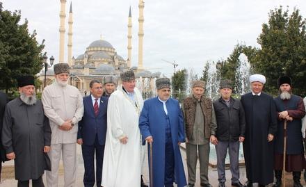 Члены Высшего религиозного Совета народов Кавказа