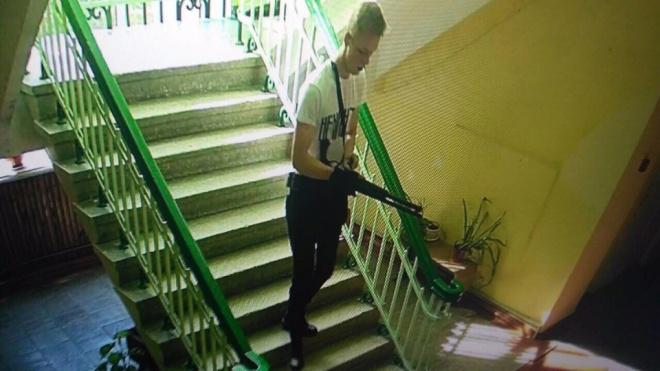 Кадр, снятый одной из видеокамер