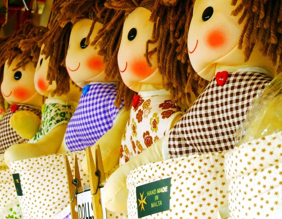 Как сделать мягкую куклу своими руками