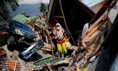 Озвучены новые страшные цифры по жертвам землетрясения в Индонезии