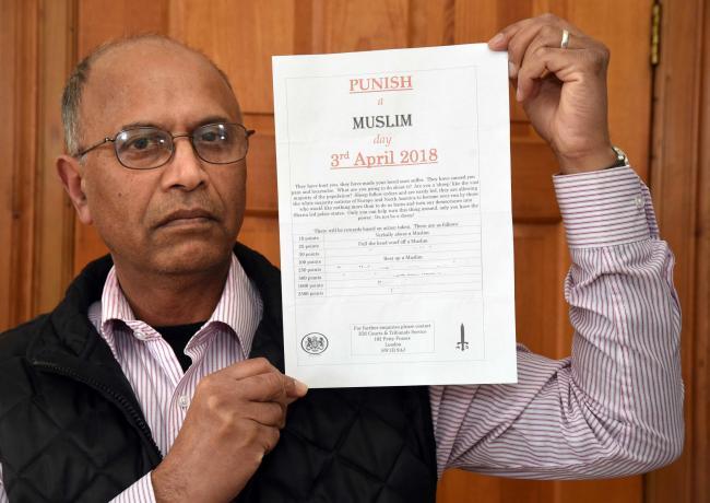 Инициатор «дня наказания мусульман» получил наказание похлеще