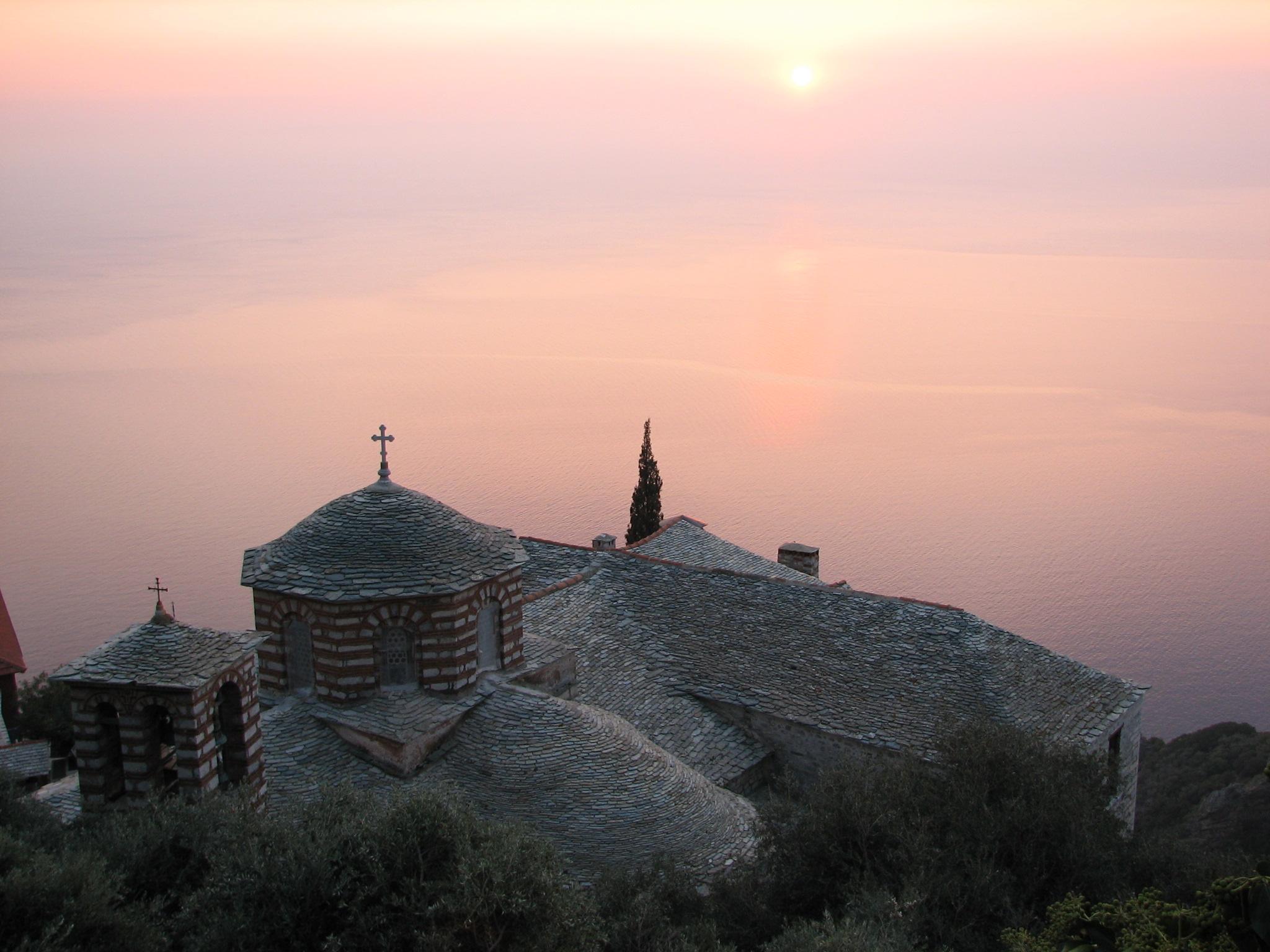 Священная для православных гора Афон