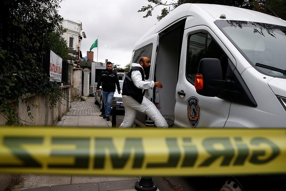 В Турции начались масштабные поиски останков саудовского журналиста