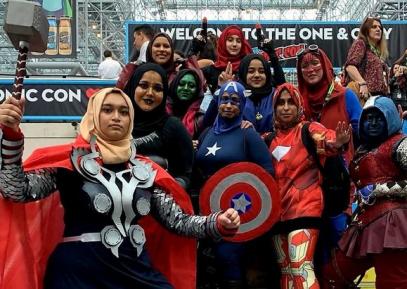 Мстители в хиджабах похулиганили в Нью-Йорке