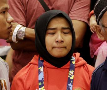 С незрячей дзюдоисткой в хиджабе случилось непредвиденное