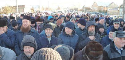Сотни людей проводили в последний путь супругу муфтия Пензенской области