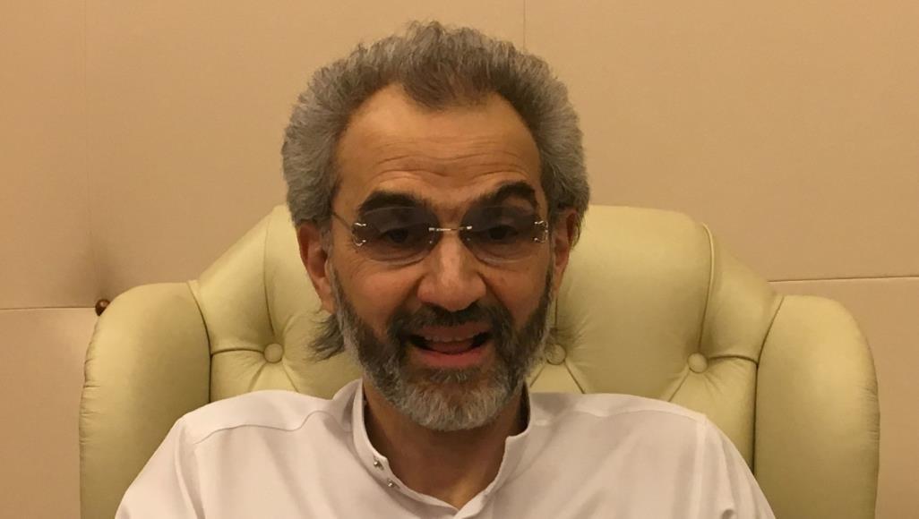 Принц Аль-Валид бен Таляль во время задержания в Ритц-Карлтоне