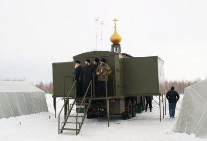 Священники отработают навыки авиадесантирования вместе с православными храмами