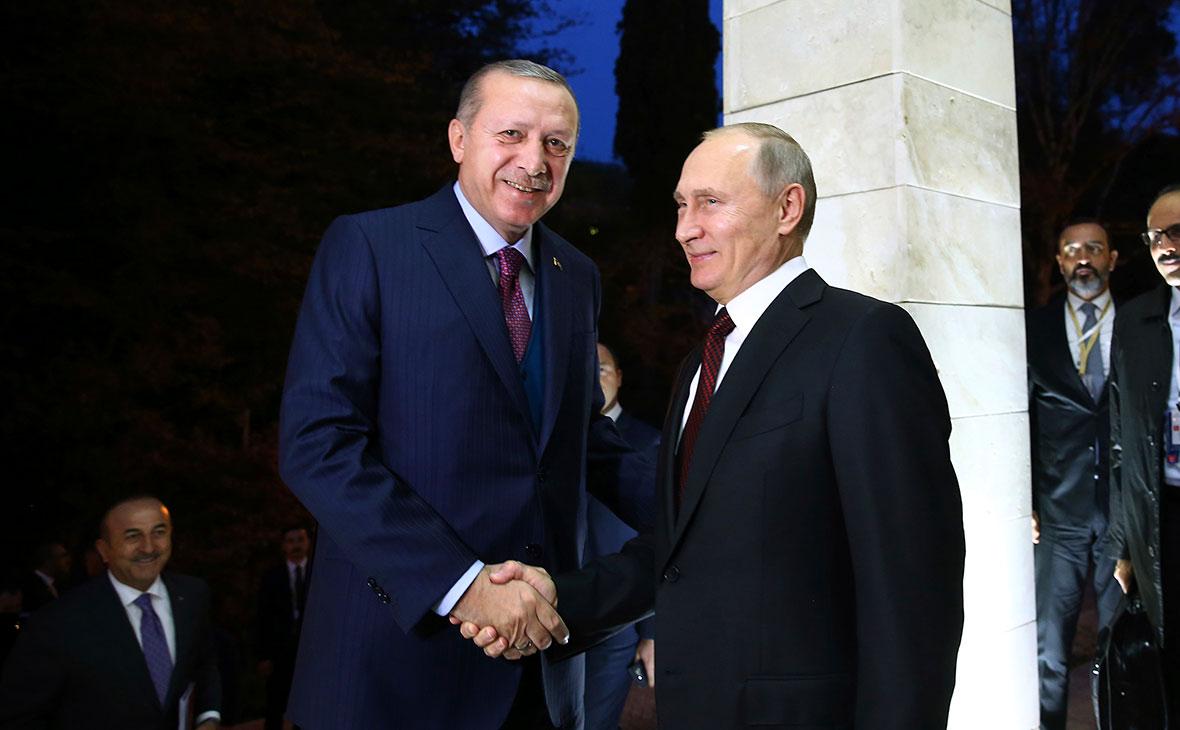 Реджеп Тайип Эрдоган и Владимир Путин (Фото: Kayhan Ozer / AP)