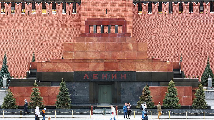 Здание мавзолея на Красной площади