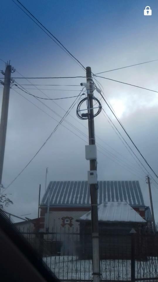 Одна из десятков видеокамер, установленных в Белозерье
