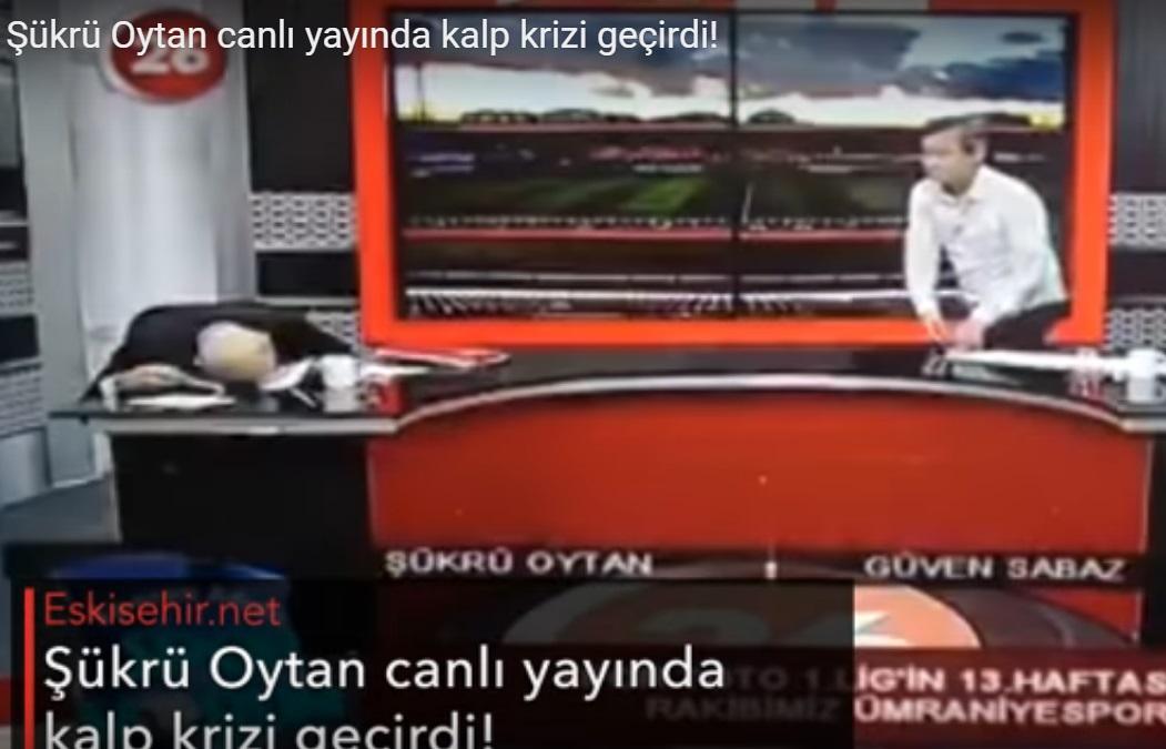 Инфаркт впрямом эфире: турецкий ведущий рухнул напол