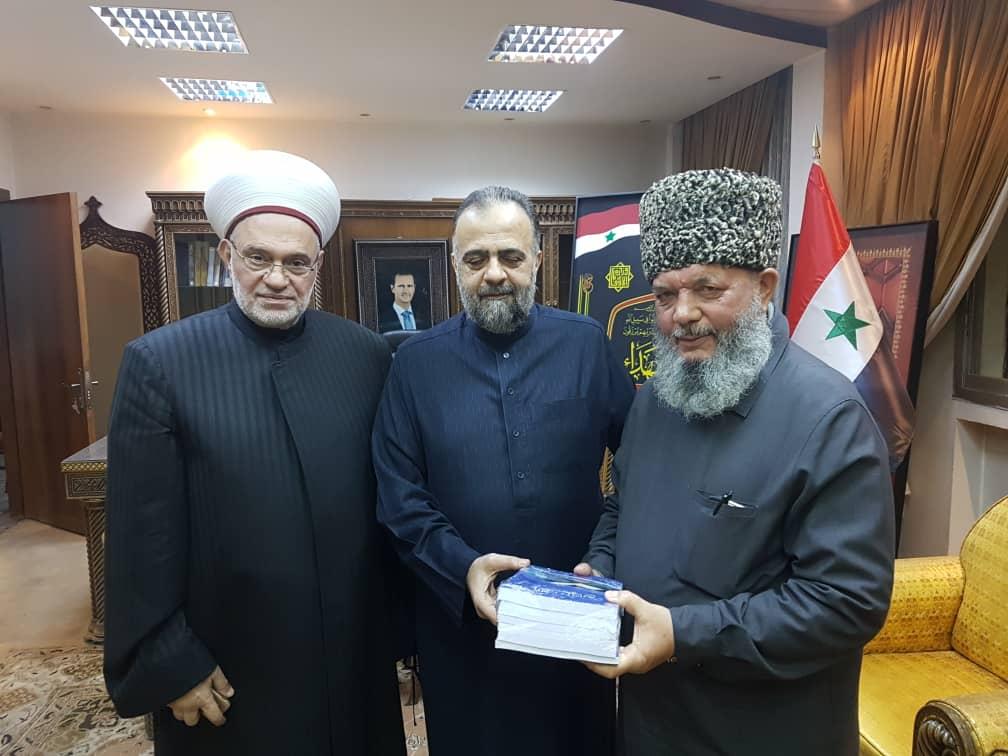 Муфтий получает от министра тафсир