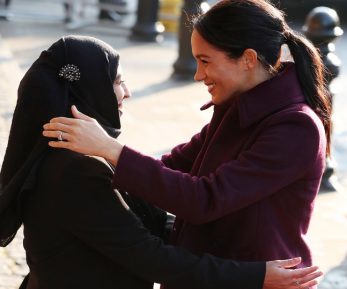 Жена принца Гарри доказала свою дружбу с мусульманками