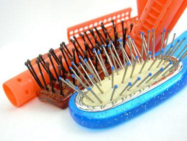Техника выпрямления волос