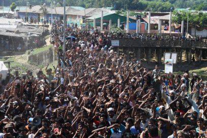 Мусульмане рохинья восстали против репатриации в Мьянму