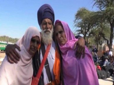 Разлученные сестры-мусульманки и брат-сикх встретились спустя 70 лет