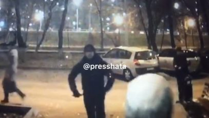 В Москве неизвестный проломил голову израильтянину (ВИДЕО)