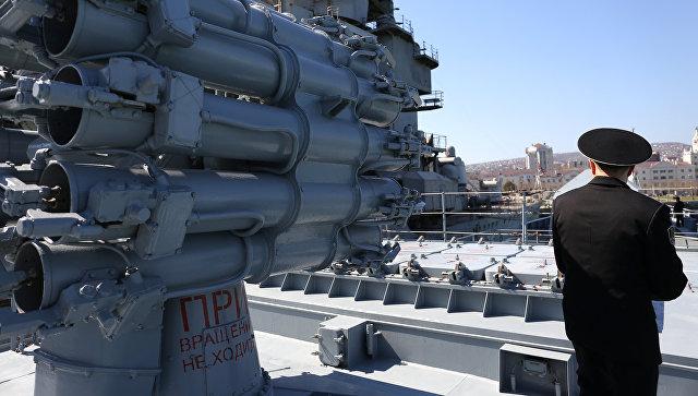 Фрегат Адмирал Григорович ВМС России. Фото: РИА Новости