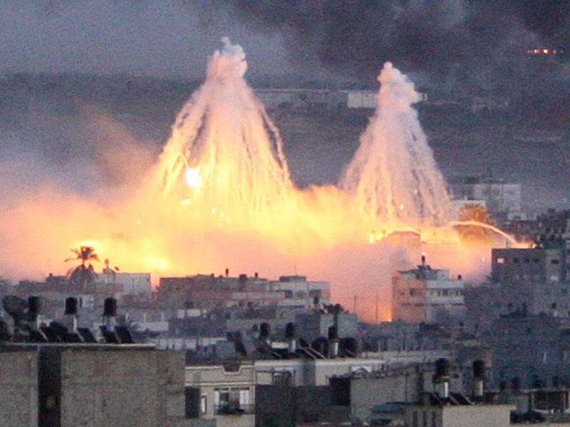 США готовы спалить Сирию белым фосфором