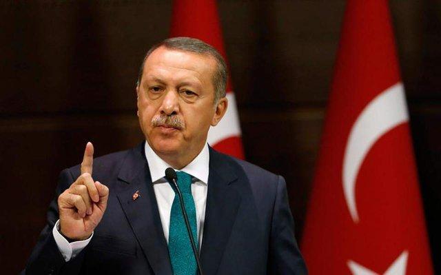 Президент Турции Реджеп Тайип Эрдоган,