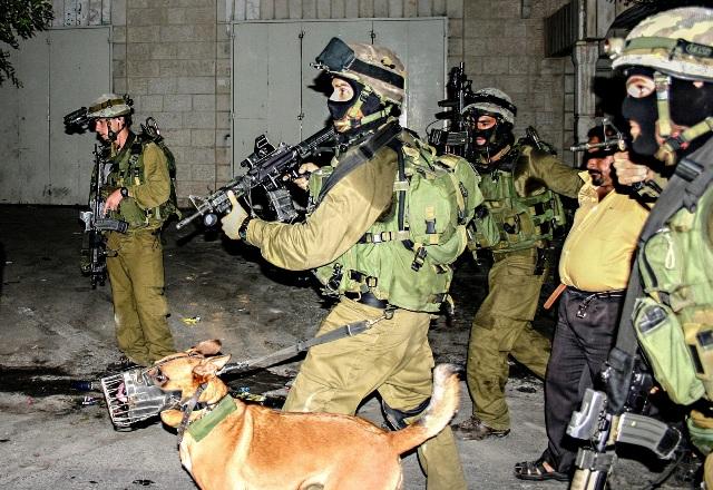Рейд израильских силовиков на Западном берегу