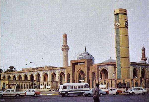 Усыпальница имама Абу-Ханифы в Багдаде