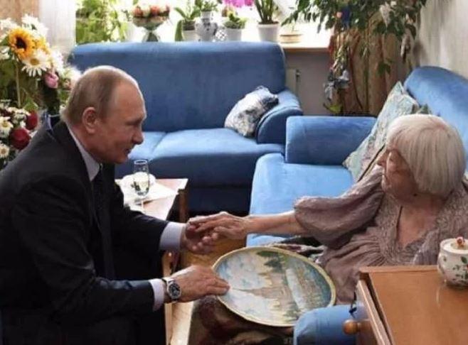 Путин у Алексеевой