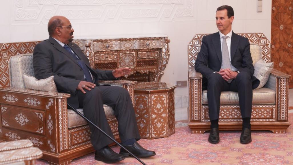 Президенты Сирии и Судана
