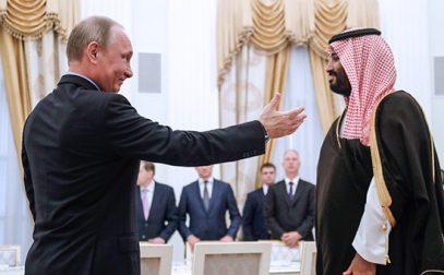 Путин и наследный принц Саудовской Аравии подняли нефть