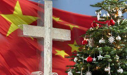Власти Китая начали карать за ёлки и Санта-Клауса