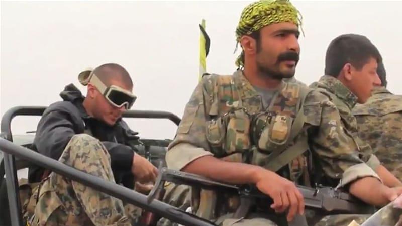 Члены YPG