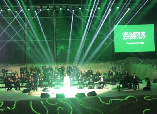 Кадр концерта